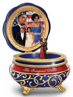 Barack and Michelle - Inaugural Dance - music box
