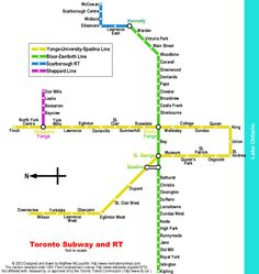 "My novel ""Subway Hitchhikers"" runs through a world like this. Toronto Subway, Nyc Subway Map, Singapore Map, Metro Map, North America Map, Rapid Transit, Best Boats, North York, Guys Be Like"