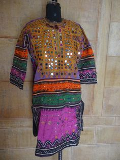gypsy banjara dress vintage handmade by jaisalmerhandloom on Etsy