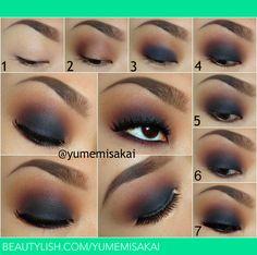 Warm Smokey Eye Tutorial! | Yumemi S.s (yumemisakai) Photo | Beautylish