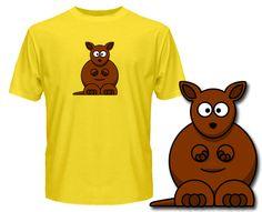 Kangaroo T Shirts - Wuggle.co.uk - £9.99