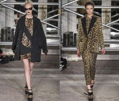 Moschino Cheap and Chic 2013-2014 Fall Winter Womens Runway Collection