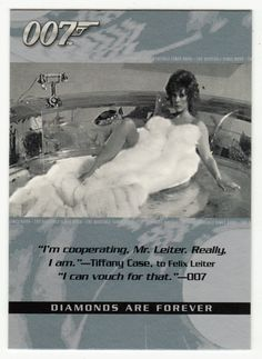 James Bond - The Quotable # 51 - Diamonds Are Forever