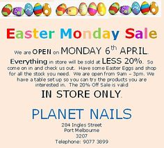 Happy Easter Everyone! Easter Monday, Happy Easter Everyone, Gel Polish, A Table, Acrylic Nails, Gel Nail Varnish, Acrylic Nail Art, Acrylic Nail Designs, Acrylics