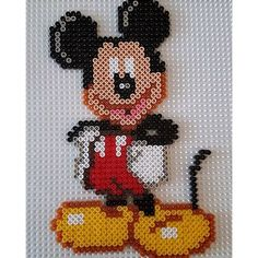 Micey Mouse perler beads by  tee_jaays