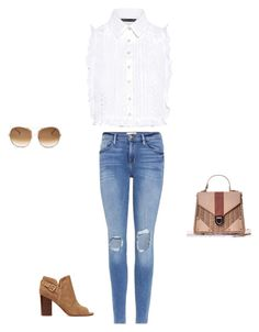 """""""Untitled #15788"""" by explorer-14576312872 ❤ liked on Polyvore featuring Sam Edelman, Marissa Webb, Frame and Chloé"""