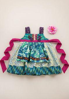 Carla Knot Dress (RV $62) **Apron fabric may vary