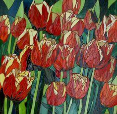 Field of tulips, Yvette Lillge