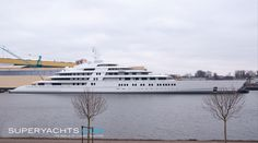 Azzam Yacht. Motor Yacht Azzam    M/Y Azzam, the largest Superyacht in the world at 180 metres, was launched by Lurssen, the world's leading shipyard for large luxury yacht building.