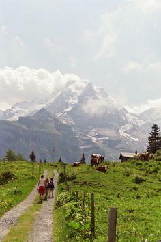 North Face Trail, Murren, Switzerland