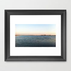 Lake Framed Art Print by Rachel Winkelman - $32.00