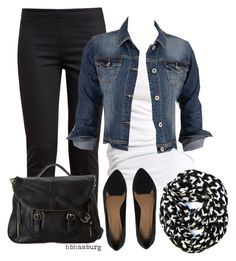 """""""No. 399 - Casual Weekend"""" by hbhamburg ❤ liked on Polyvore"""