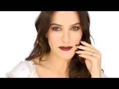 The look I have created with the Eclats du Soir collection - very vampy!