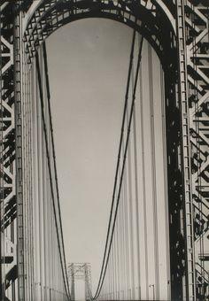 Margaret Bourke-White (1904-1971), George Washington Bridge, 1933