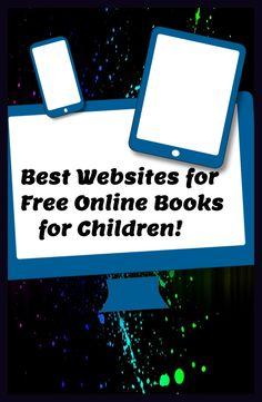 Best websites for free online books for children. JQ