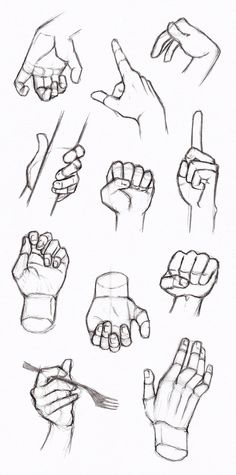 Copy's and Studies: Hands 3 by WonderingMind23