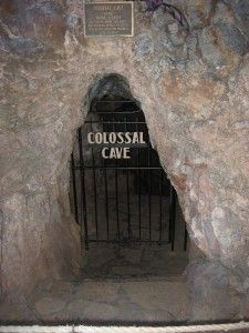 Colossal Cave, 25 mi east of Tucson ( cave, horseback riding, hayrides, hiking, 2 museums, & a restaurant.)