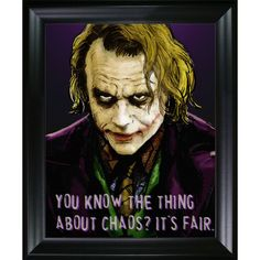 ArtistBe Dan Avenell 'The Joker' Fine Art Print on Canvas