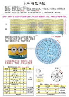 귀여운 수납 바구니들, 코바늘 뜨개, 무료도안, 공개도안 : 네이버 블로그 Crochet For Kids, Crochet Toys, Knit Crochet, Crochet Coin Purse, Crochet Bookmarks, Yarn Crafts, Diy And Crafts, Crochet Stitches, Strands