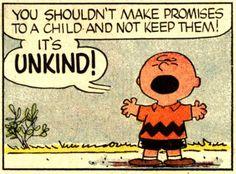 Vintage Charlie Brown Comic