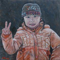 """Peace"" painting by Patricia Thomas"