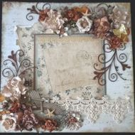 shabby chic floral lace
