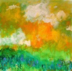Christine Soccio . Summer / 36 x 36  available at www.ugallery.com