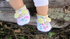 Crocheting: Baby Booties