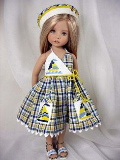 "Spinnaker - for 13"" Effner Little Darlings"