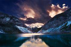 Cielo, Montaña, Lago !!!