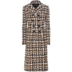 Dolce & Gabbana Wool and Cotton-Blend Bouclé Coat