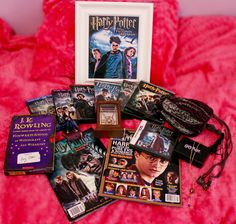 All time favorite series Harry Potter. My collection including: jewelry, movies, magazines, autograph and books.