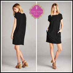 Avalon Dress in Black