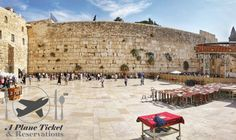 This is the famous Western Wall of Jerusalem.  I have always dreamed about being able to put my hands on it after years of watching documentaries and the history channel.  Find out more about the Old City with our link in our bio loves! #APlaneTicketAndReservations        #OldCity #Jerusalem #Israel #ToLiveAndDineInJerusalem #ToLiveAndDine #GrubLife #Travel #Traveler #Travels #TravelGram #TravelinGram #Traveling #Vacation #Wanderlust #TravelBlog #Holiday #TravelBlogger #Wanderer…