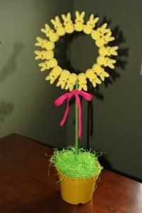Peeps Easter centerpiece..love this!