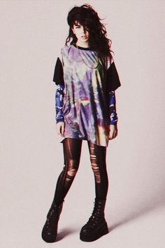 charli xcx. Her 90s flair.