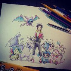 Dibujo de Pokémon / Pokemon drawing