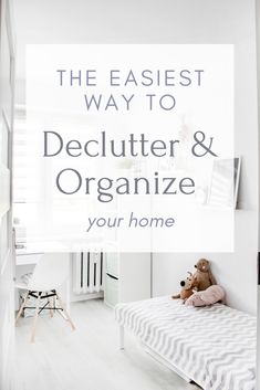 Declutter and Organize Your Home in 7 Days via @thefaithfulhelpmeet