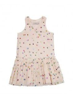 STELLA MCCARTNEY KIDS Bell Tulle Dress / Pink