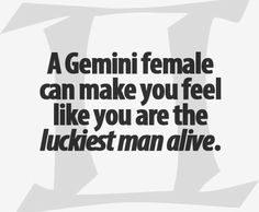 I'm the lucky one babe