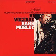 """Hank Mobley's """"Hi-Voltage"""" album #NowPlaying #Jazz"""