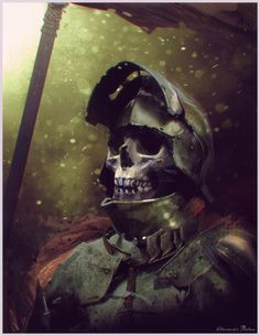 Wights: These are long-dead kings and warriors of renown which have been raised by powerful necromantic magic. Stronger than the typical skeleton warrior, Wights carry with them powerful weapons which are enchanted to bring death with the slightest scratch. It takes a necromancer of incredible power to bind such warriors.