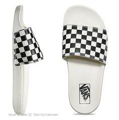 97f6f1b33d0 Skate Shoes PH  Vans Checkerboard Slide-On White Shoes