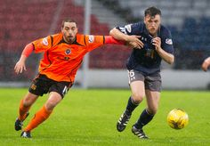 Queen's Park's Adam Cummins in action during the Ladbrokes League One game between Queen's Park and Stranraer.