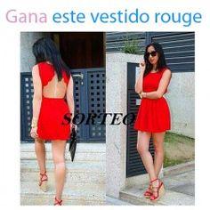 Gana este vestido rouge ^_^ http://www.pintalabios.info/es/sorteos-de-moda/view/es/4830 #ESP #Sorteo #Moda