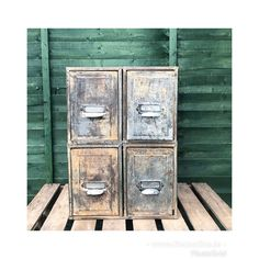 Stunning set of vintage metal 1930's filing drawers with beautiful peeling paint patina. These gorgeous drawers make wonderful storage perfect for sneakers and the like. For lovers of rustic patinated character pieces. Absolutely stunning texture. Could be a low table or used on a table top.Dimensions 51cmheight x 45cm depth x 36.5 width. DM for more details Peeling Paint, Absolutely Stunning, Beautiful, Low Tables, Find Furniture, Filing, Vintage Metal, A Table, Drawers