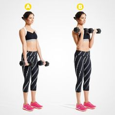 The Best Exercises To Get Sexy Arms - Fit Girl's Diary Fun Moves, Workout Routines For Women, Workout Ideas, Toned Arms, Upper Body, Abs, The Incredibles, Sexy, Barre Workout