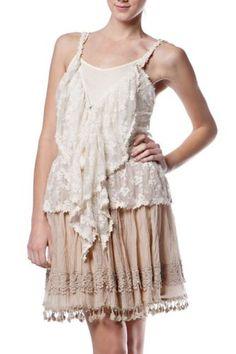Ryu Boutique Crochet Lace Vest Cami Top Size s M L Sexy Feminine | eBay
