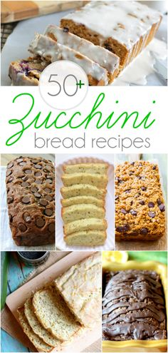 The BEST of all those zucchini bread recipes! Over YUMMY recipes! The BEST of all those zucchini bread recipes! Over YUMMY recipes! Just Desserts, Delicious Desserts, Dessert Recipes, Yummy Food, Yummy Recipes, Recipes Dinner, Health Desserts, Holiday Recipes, Best Zucchini Bread