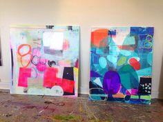 maleri med farver